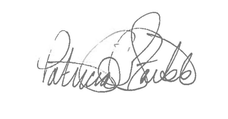 Tricia Staible signature